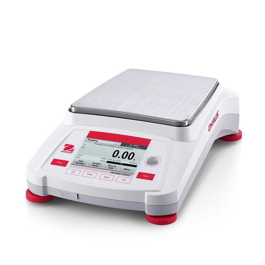 Ohaus Adventurer AX8201 8200g x 1g Trade Approved Precision Balance With AutoCal