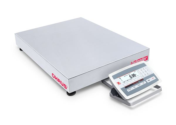 Ohaus Defender 5000 D52XW150WTDL5AU 60kg x 20g/150kg x 50g 400mm x 500mm Front Mount Dual Range Washdown Bench Scale