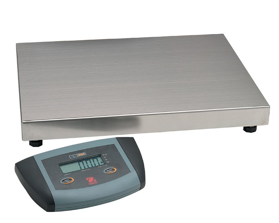 Ohaus ES200L 200kg x 100g Large Base Low Profile Bench Scale