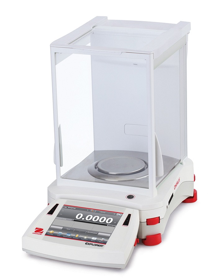 Ohaus Explorer EX124 120g x 0.1mg Analytical Balance with Autocal
