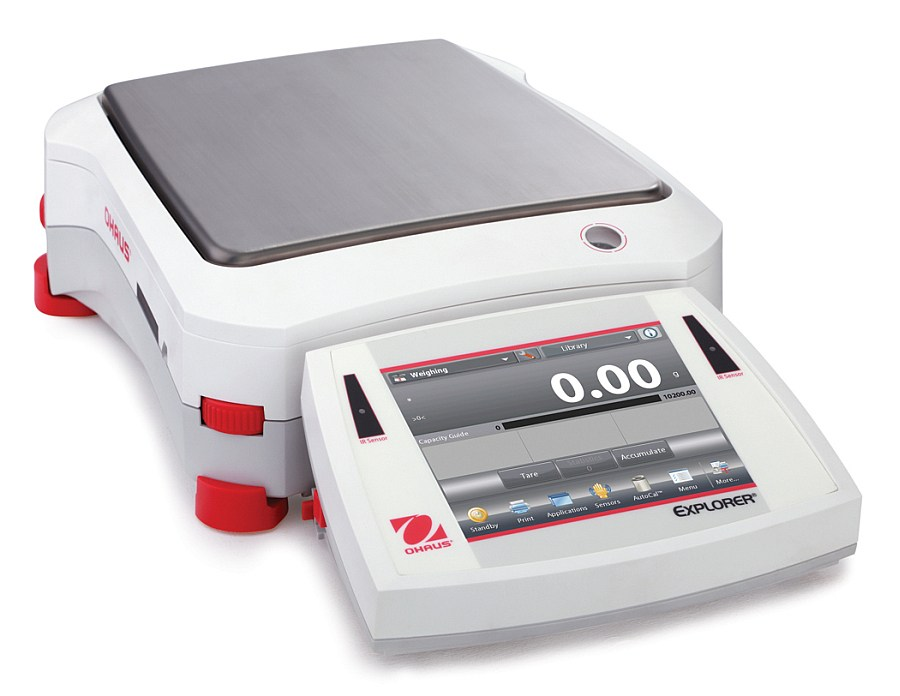 Ohaus Explorer EX6202 6200g x 0.01g Precision Balance With AutoCal