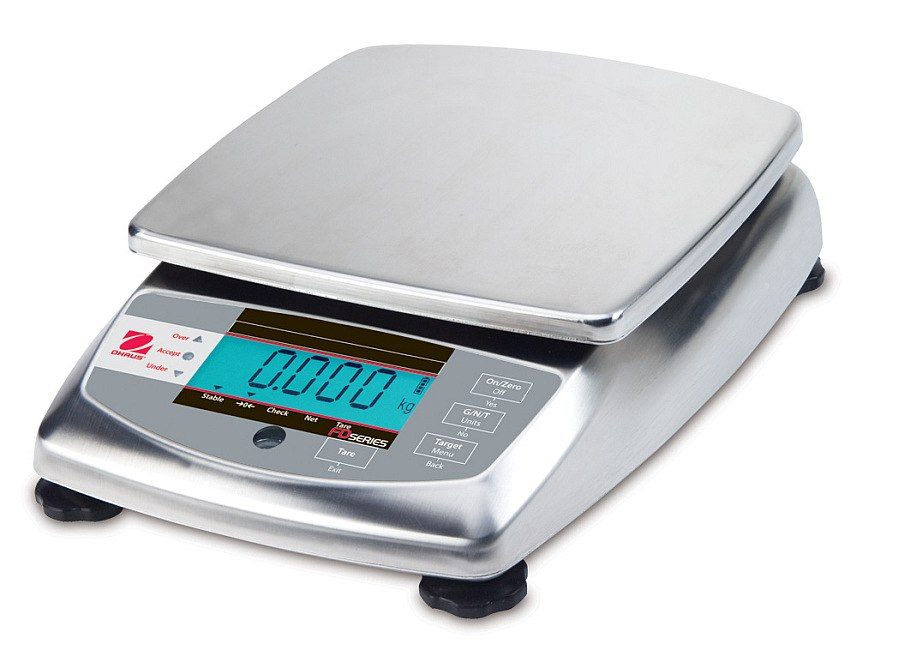 Ohaus FD6 6kg x 2g Food Portioning Scale