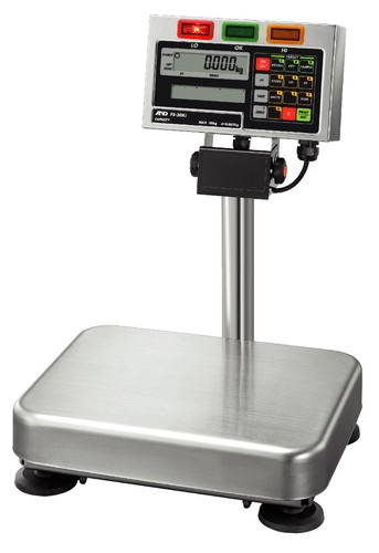 A&D FS-15Ki-L 15kg x 5g Large Base Checkweighing Platform Scale