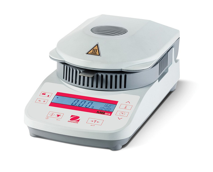 Ohaus MB23 110g x 0.01g/0.1 percent Moisture Analyzer