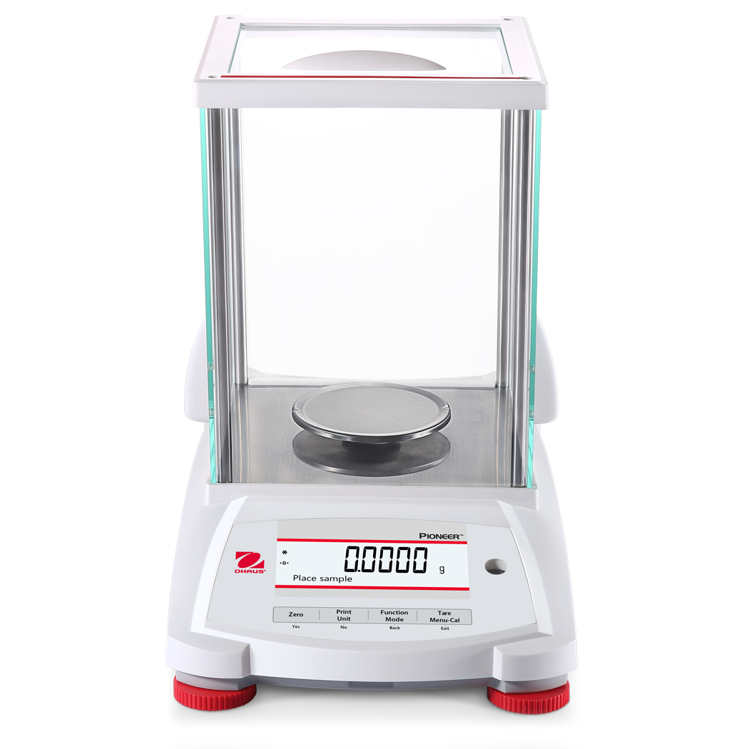 Ohaus Pioneer PX223 220g x 0.001g Precision Balance With Draftshield & Incal