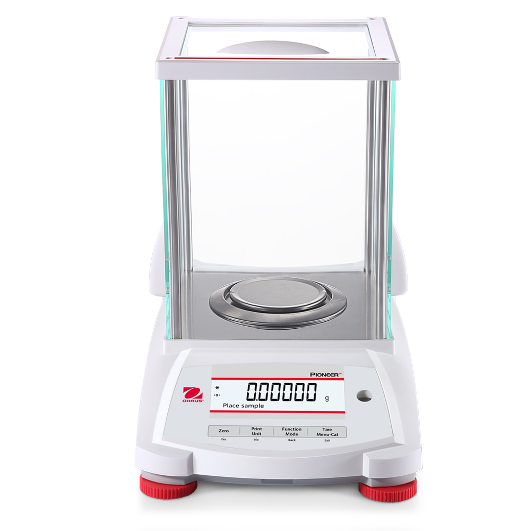 Ohaus Pioneer PX125D 52g x 0.01mg  / 120g x 0.1mg Dual Range Semi-Micro Analytical Balance With Incal