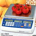 A&D SG-6KA Dual Range 3kg x 1g/6kg x 2g Price Computing Scale