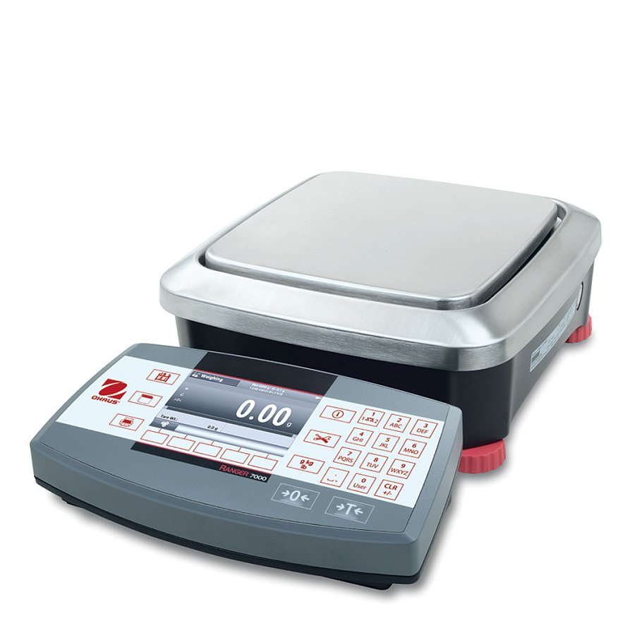 Ohaus Ranger 7000 R71MD6 6kg x 0.1g/0.05g Compact Bench Scale