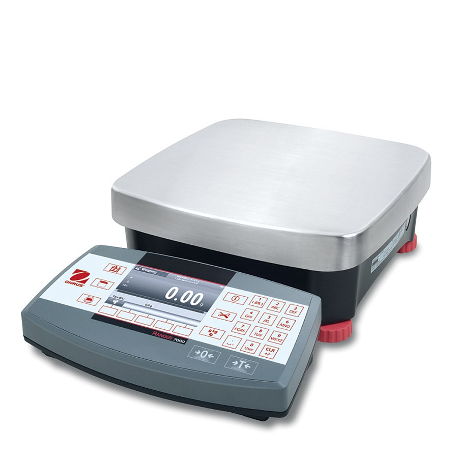 Ohaus Ranger 7000 R71MD3 3kg x 0.05g/0.02g Compact Bench Scale