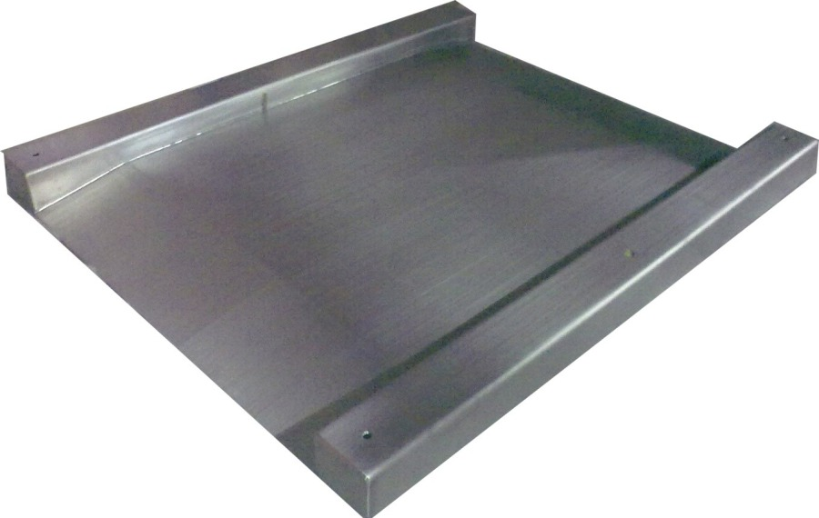 Kelba 1500kg x 0.5kg 800mm x 800mm Drop Centre Stainless Steel Pallet/Floor Scale + 240V AC KR320 Indicator