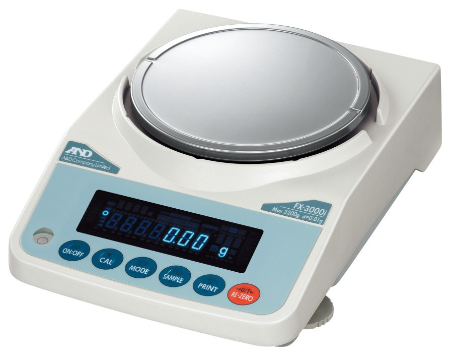 A&D FZ-5000i 5200g x 0.01g Precision Balance with Breeze Break