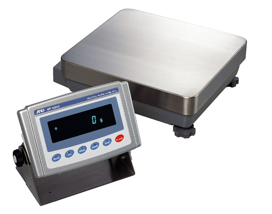 A&D GP-32KS 6100g x 0.1g/1g & 31000g x 1g Multi-Range High Capacity Balance With Internal Calibration