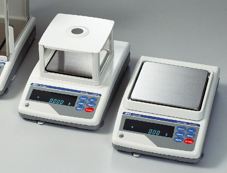 A&D GX-400 410g x 0.001g/0.01g Precision Balance with Breeze Break