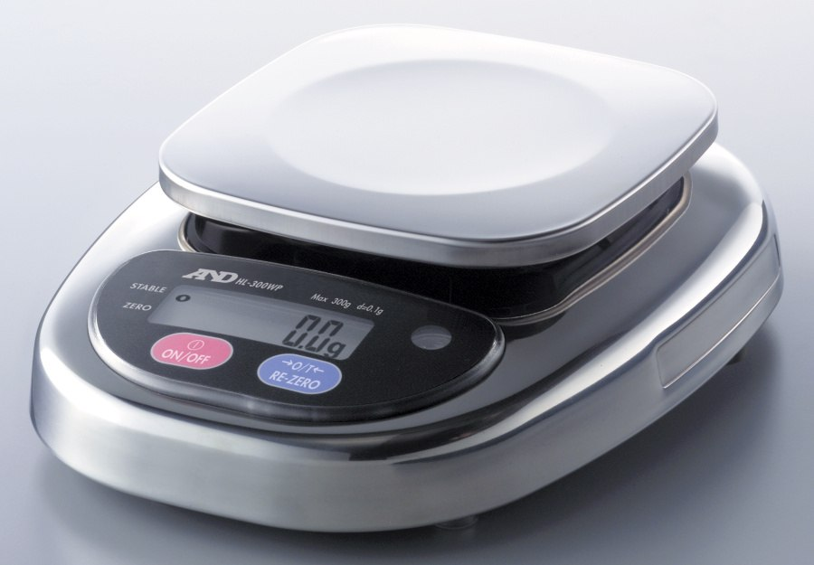 A&D HL-1000WP 1000g x 0.5g Digital Scale