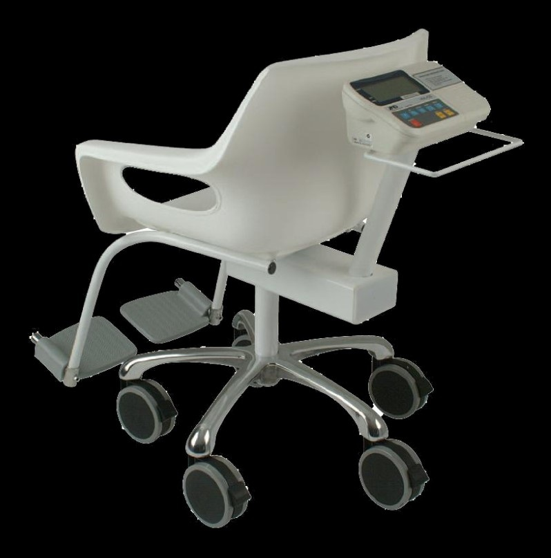 A&D HVL-CS 150kg x 0.02kg Hospital Chair Scale