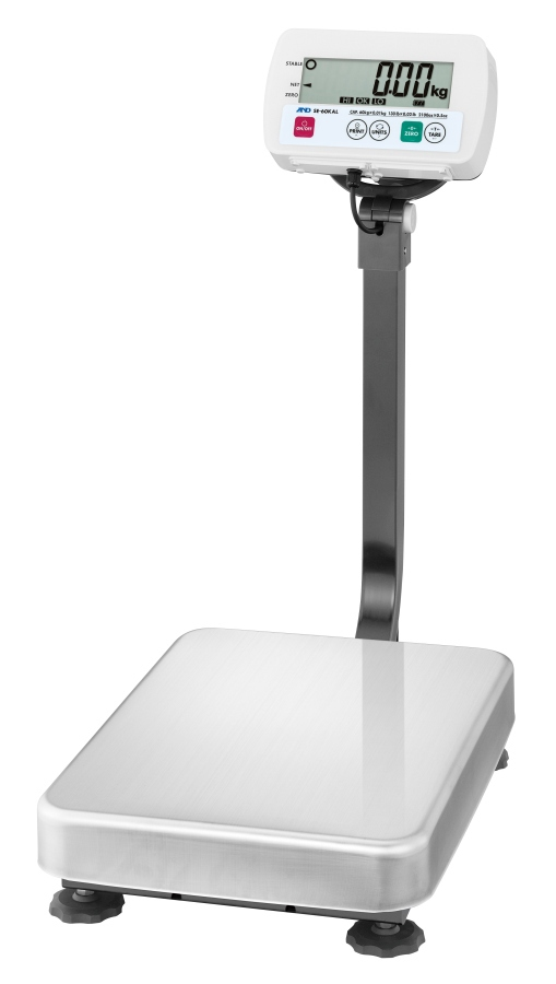 A&D SE-60KAL 60kg x 20g Platform Scale With Large Base