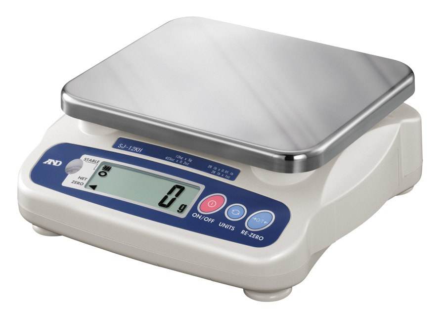 A&D SJ-5000N 5000g x 5g Compact Bench Scale