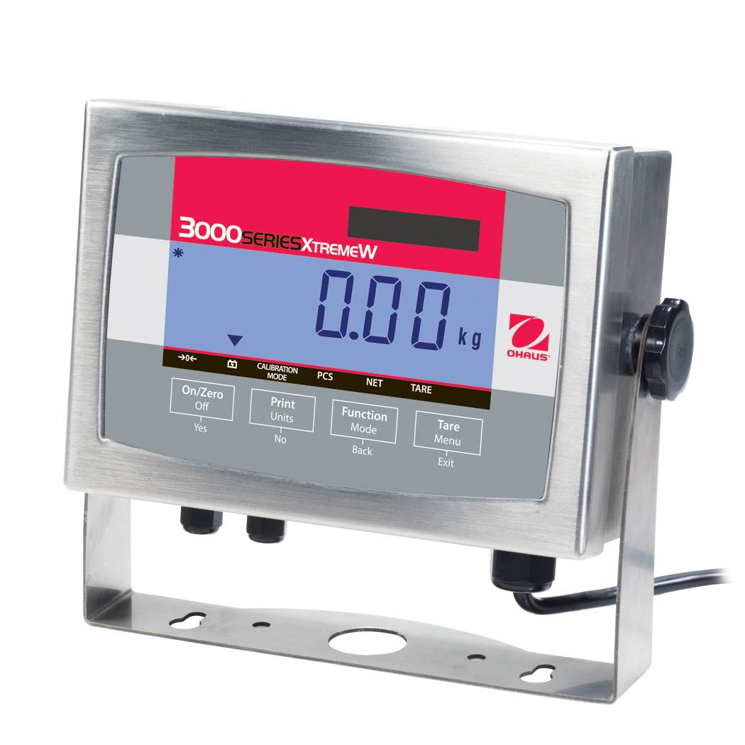 Ohaus Defender 3000 T32XWAU Stainless Steel Weighing Indicator