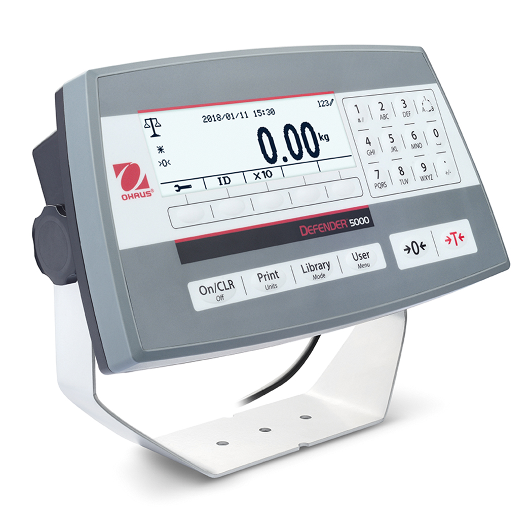 Ohaus Defender 5000 TD52P Dual Range Weighing Indicator