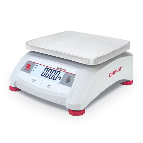 Ohaus Valor 1000 V12P3 3kg x 0.5g Compact Bench Scale