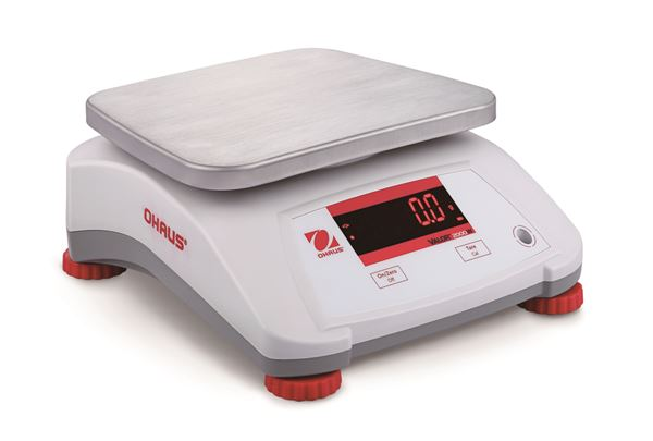 Ohaus Valor 2000 V22PWE30T 30kg x 5g IPX8 Washdown Compact Bench Scale