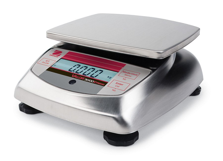 Ohaus Valor 3000 Xtreme V31X6 6kg x 1g Compact Food Scale