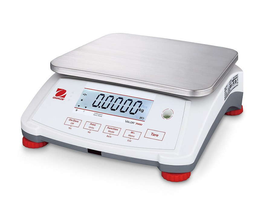 Ohaus Valor 7000 V71P30T 30000g x 1g Compact Food Scale