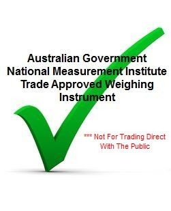 NMI Approved But Not For Trading Direct With The Public Unless Dual Display