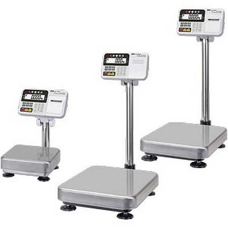 A&D HW-100KCP 100kg x 10g Multi-Functional Platform Scale With Internal Printer