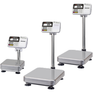 A&D HV-60KCP 15kg x 5g/30kg x 10g/60kg x 20g Triple Range Platform Scale With Internal Printer