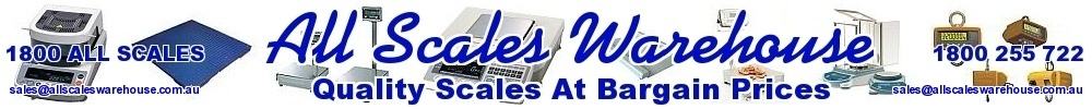 All Scales Warehouse Pty Ltd (ABN 30 283 665 934) - Australia